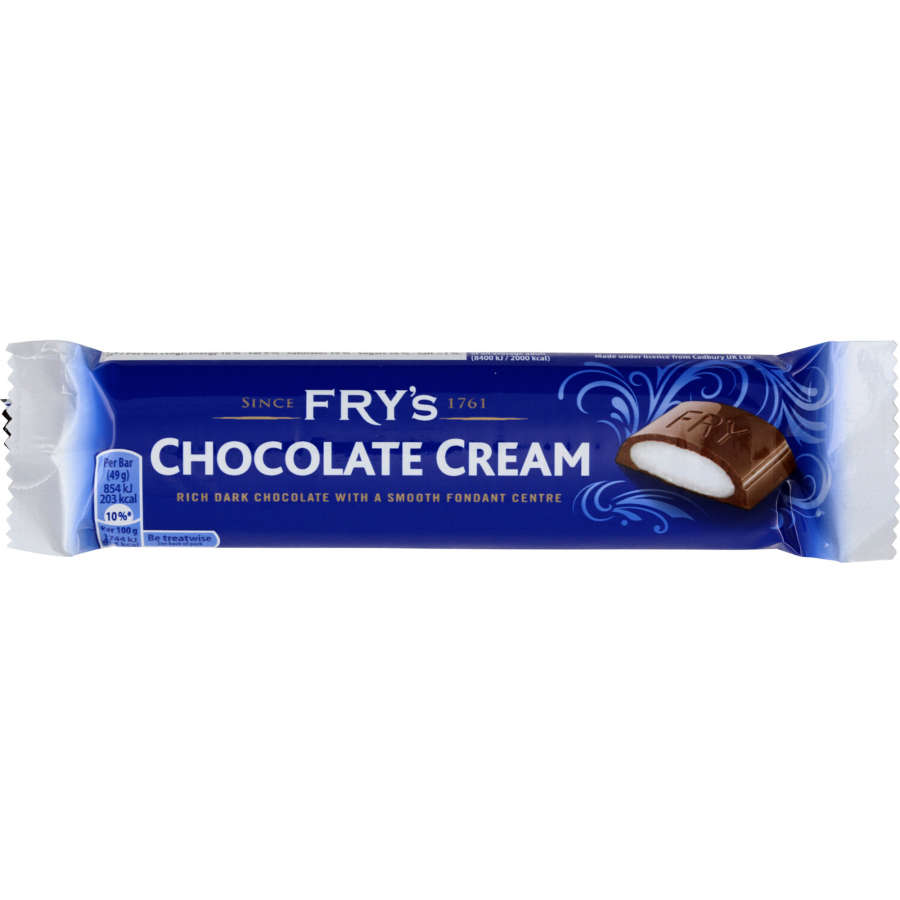 Frys Chocolate Bar Cream 49g - buy online at countdown.co.nz