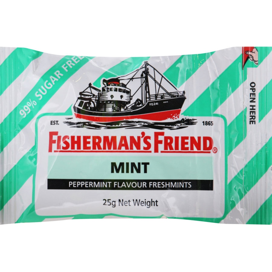 Fishermans Friend Lozenges Fresh Mint Sugar Free 25g - buy online at countdown.co.nz
