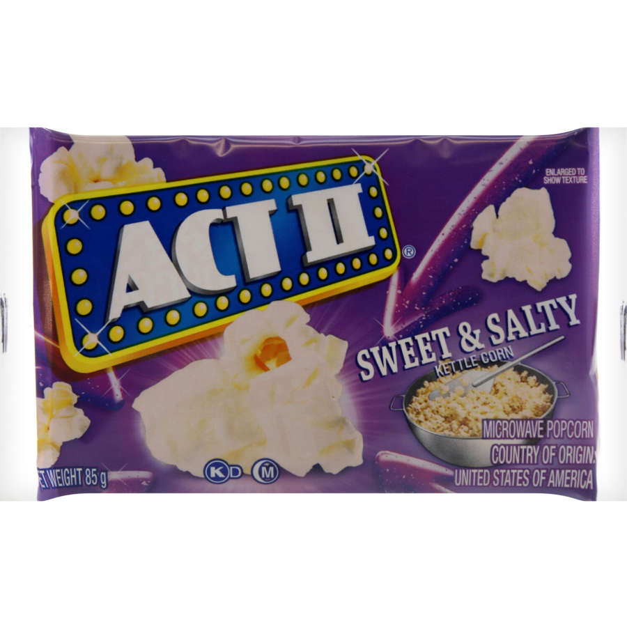 Act I I Microwave Popcorn Kettle 85g - buy online at countdown.co.nz
