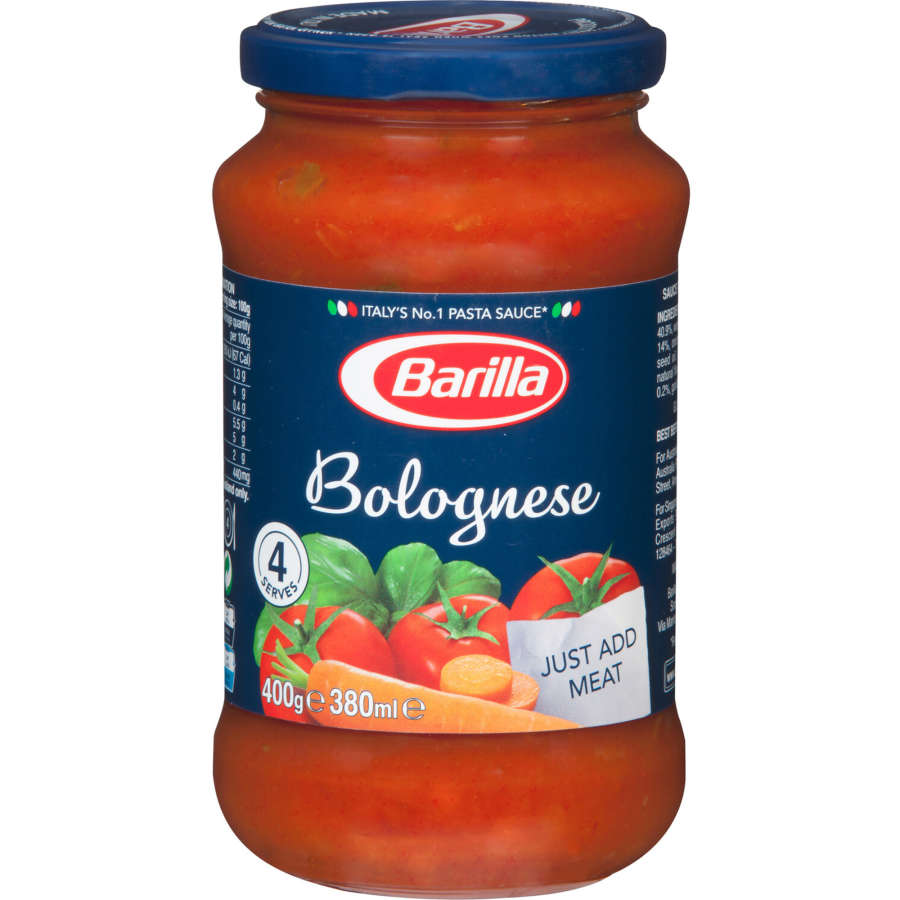 Barrilla Pasta Sauce Base  Per Bolognese 400g - buy online at countdown.co.nz