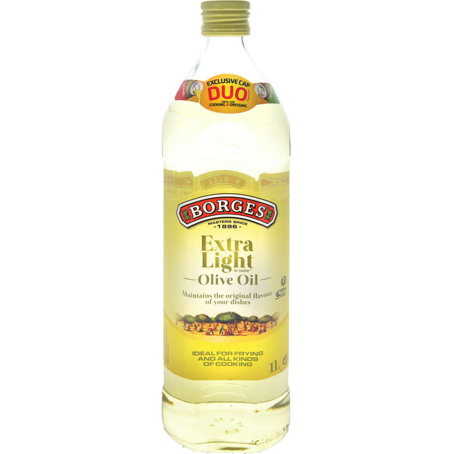 Borges Olive Oil Extra Light 1l - buy online at countdown.co.nz