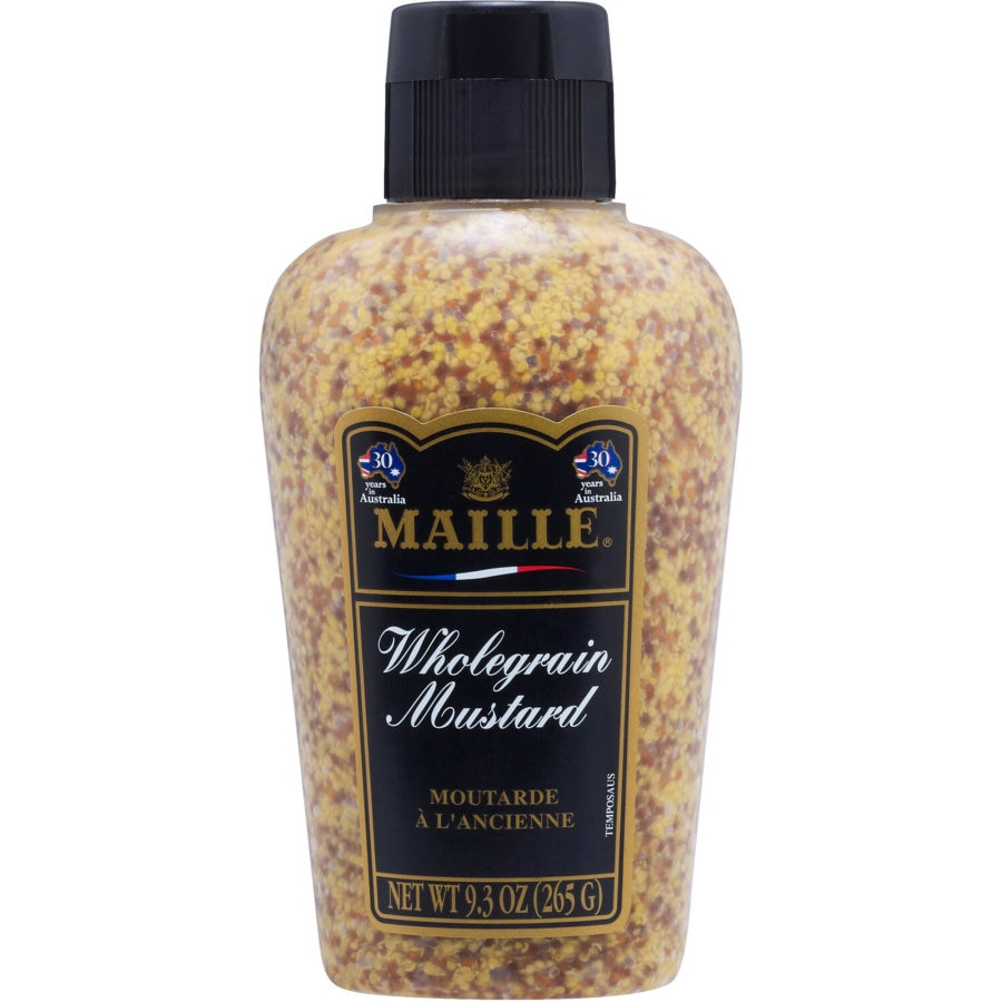 Maille Mustard Squeezy Wholegrain 260g - buy online at countdown.co.nz