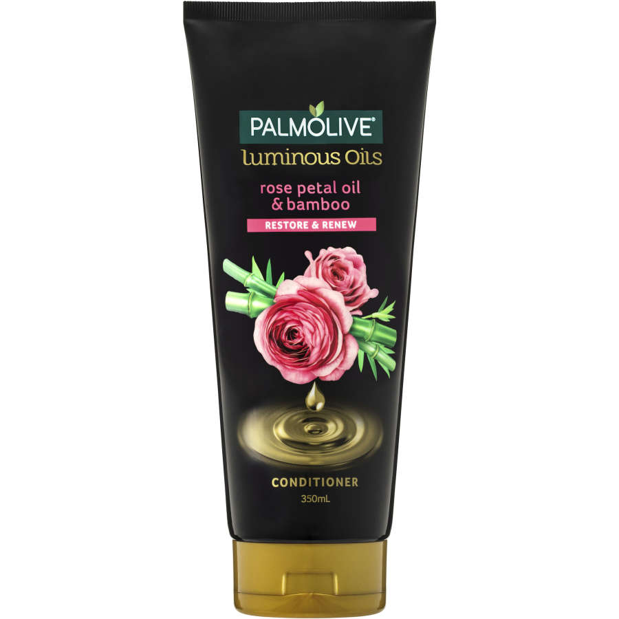 Palmolive Luminous Oils Conditioner Rose Oil & Bamboo Extract 350ml - buy online at countdown.co.nz