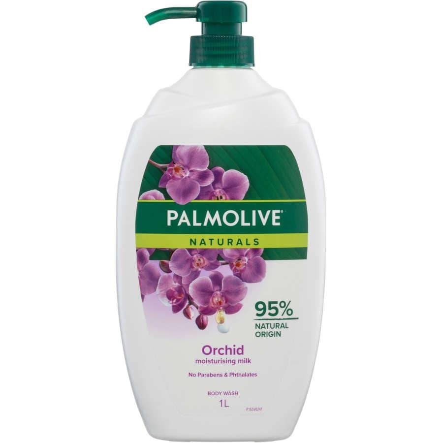Palmolive Naturals Body Wash Milk & Wild Orchid Shower Gel 1l - buy online at countdown.co.nz