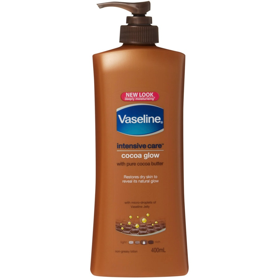 Vaseline Body Lotion Cocoa pump 400ml - buy online at countdown.co.nz