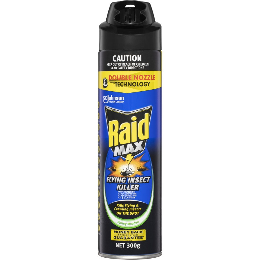 Raid Max Insect Control Flying Insect spray 300g - buy online at countdown.co.nz