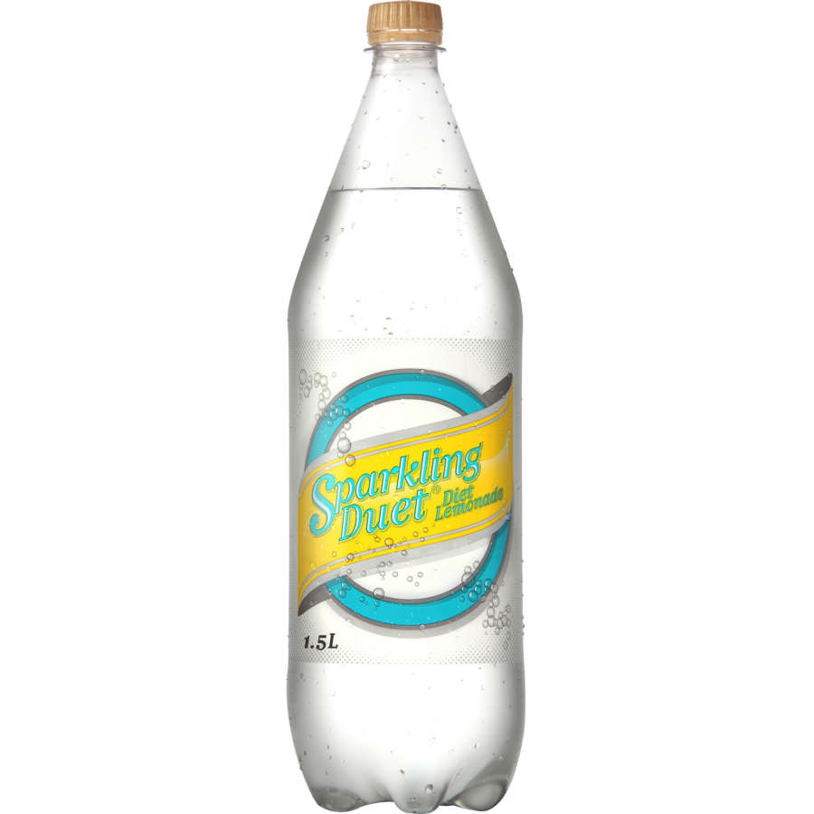 Sparkling Duet Soft Drink Diet Lemonade 1.5l - buy online at countdown.co.nz