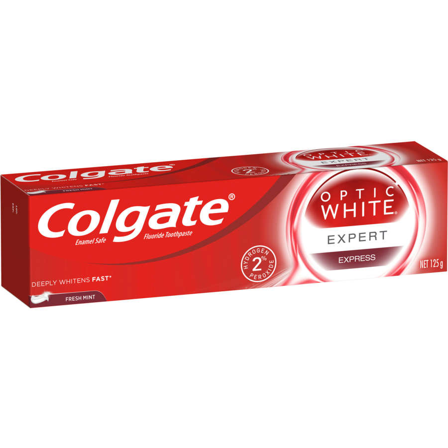 Colgate Optic White Express Teeth Whitening Toothpaste, 125g