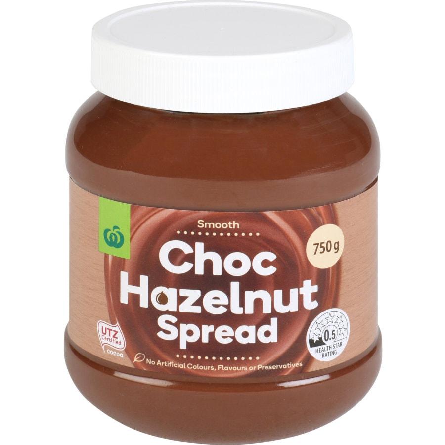 Essentials Hazelnut Spread Chocolate 750g - buy online at countdown.co.nz