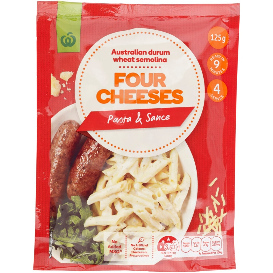 Countdown Pasta Dish Four Cheeses 125g - buy online at countdown.co.nz
