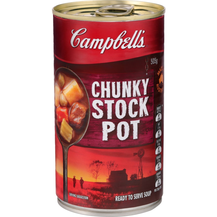Campbells Chunky Canned Soup Stockpot 505g - buy online at countdown.co.nz