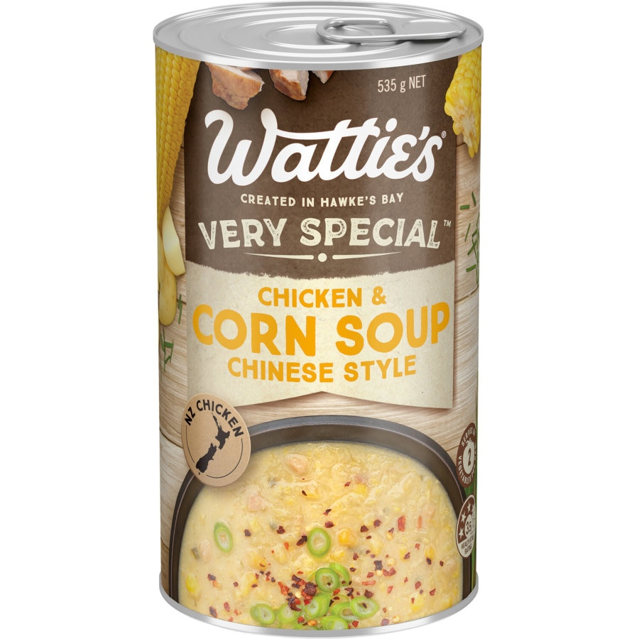 Watties Very Special Canned Soup Chinese Chicken With Corn 535g - buy online at countdown.co.nz