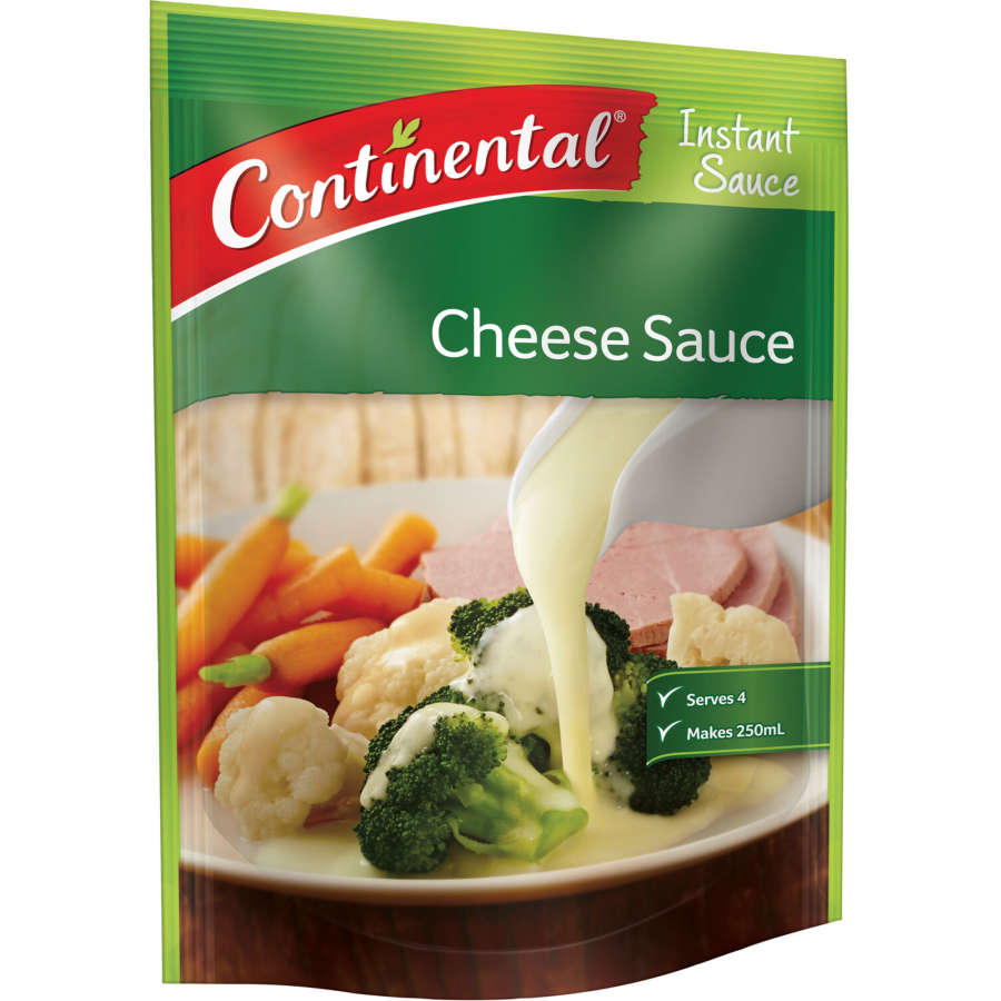 Continental Cheese Sauce Instant Mix sachet 40g - buy online at countdown.co.nz
