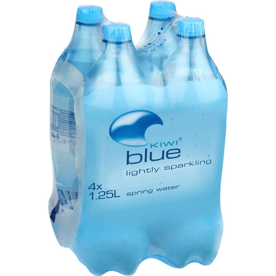 Kiwi Blue Sparkling Water 1.25l 4pk - buy online at countdown.co.nz
