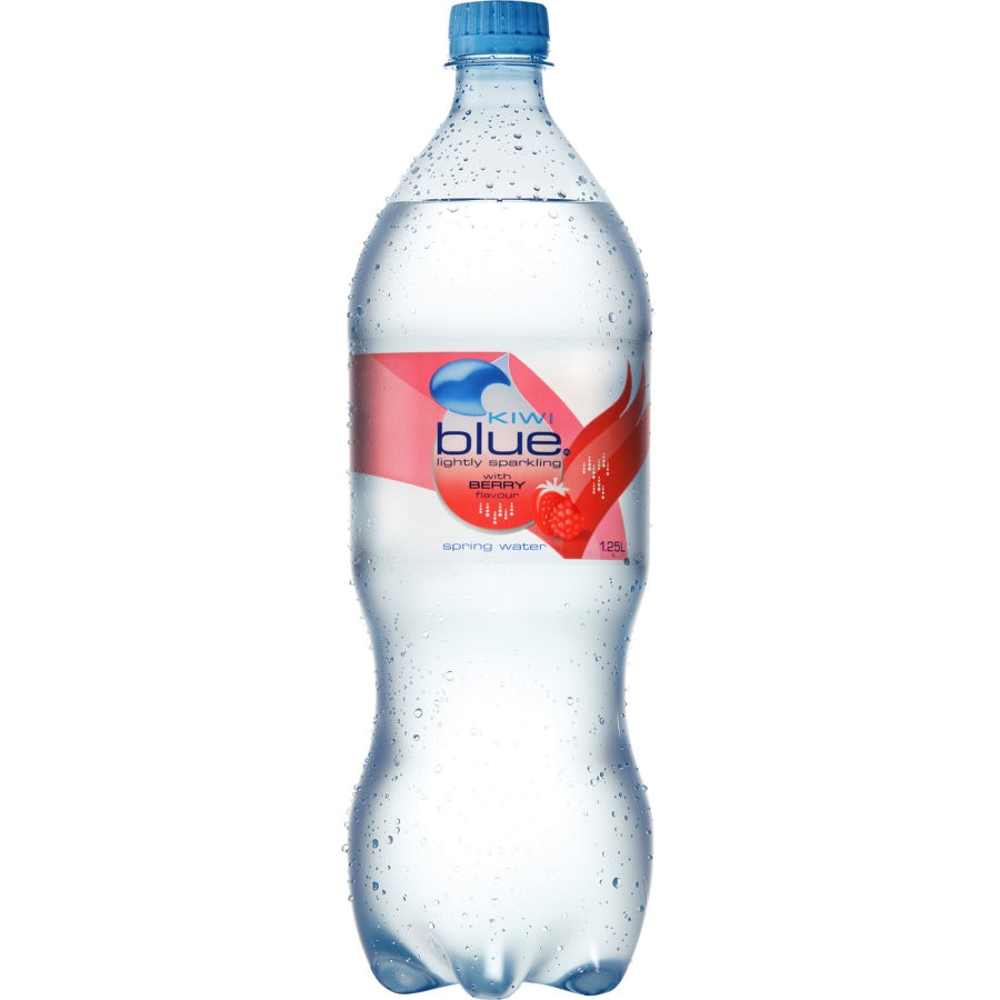 Kiwi Blue Sparkling Water Berry 1.25l - buy online at countdown.co.nz