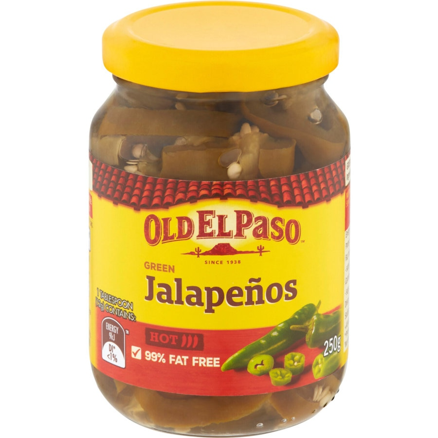 Old El Paso Mexican Jalapenos jar 250g - buy online at countdown.co.nz