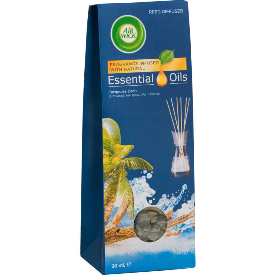 Air Wick Life Scents Reed Diffuser Turquoise Oasis diffuser 30ml - buy online at countdown.co.nz