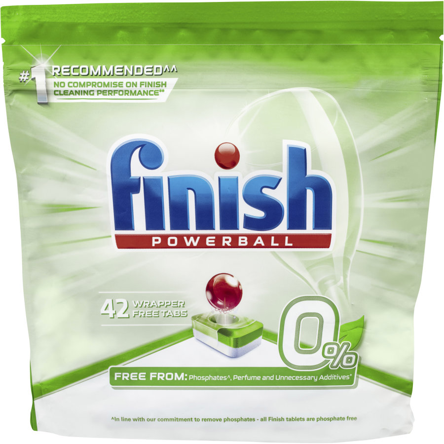 Finish Powerball Dishwasher Tablets Wrapper Free 42pk - buy online at countdown.co.nz