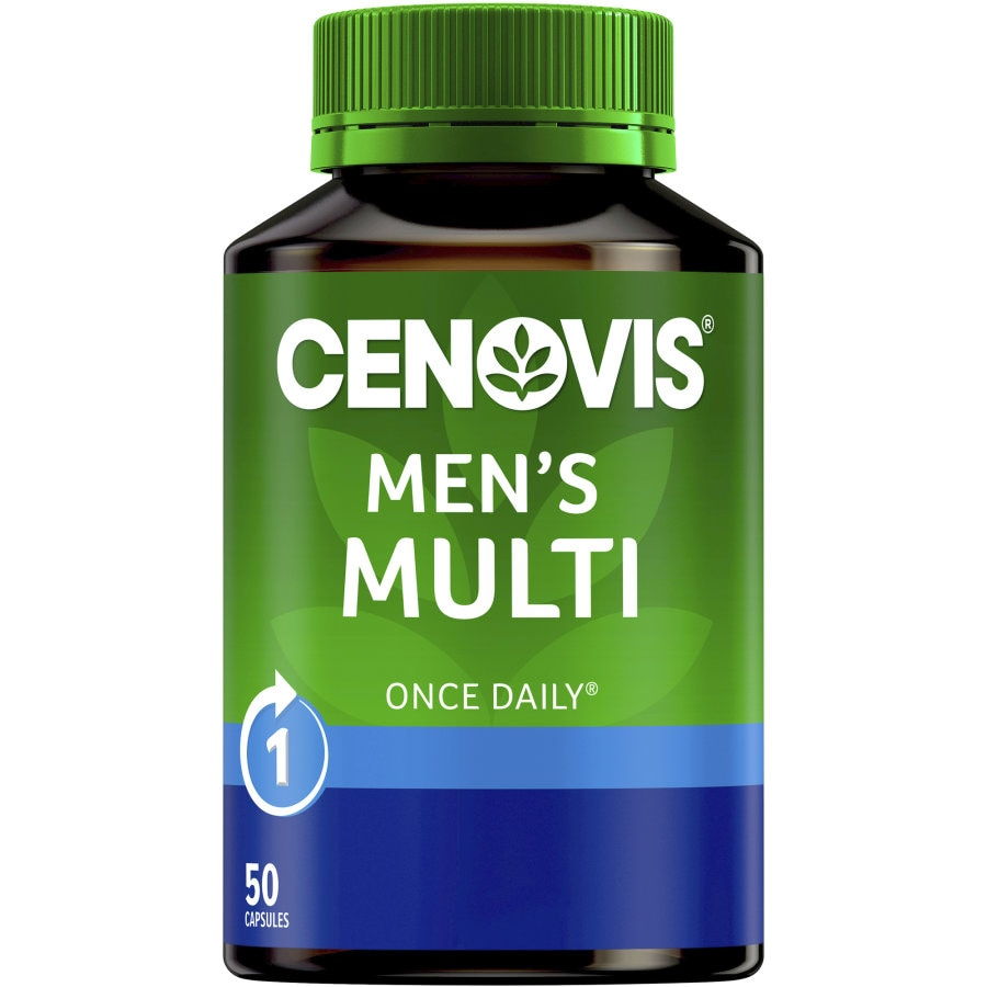 Cenovis Mens Multi Once Daily 50pk - buy online at countdown.co.nz