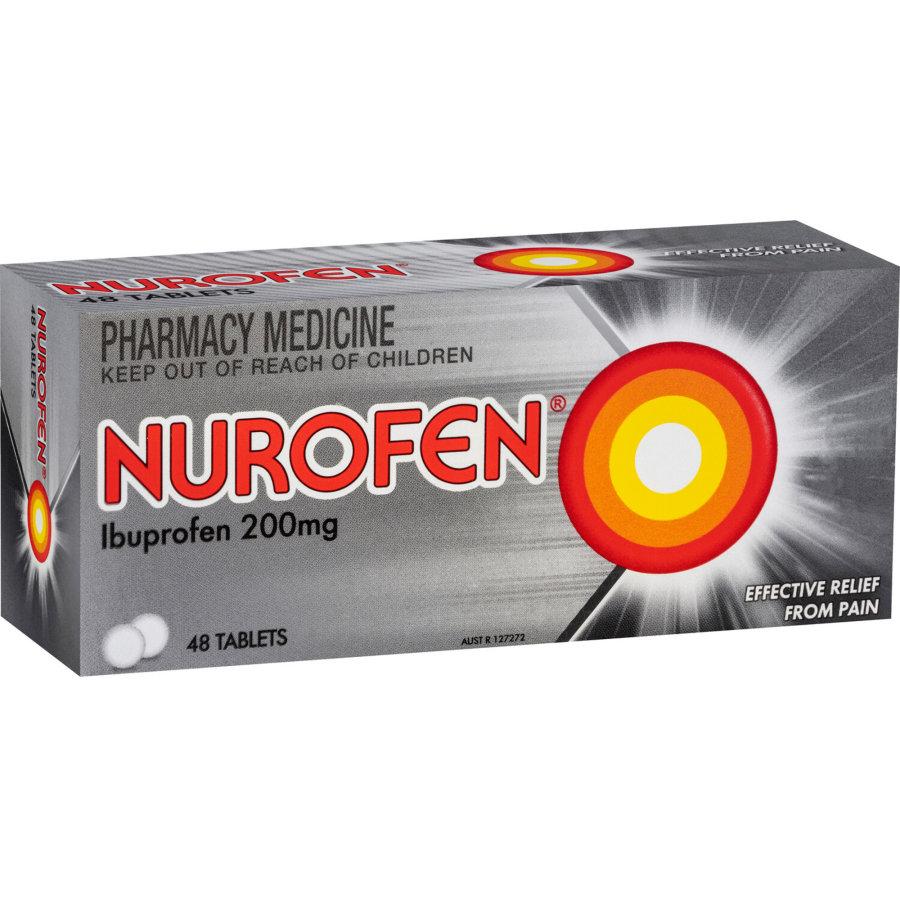 Nurofen 200mg Tablets, 48pk