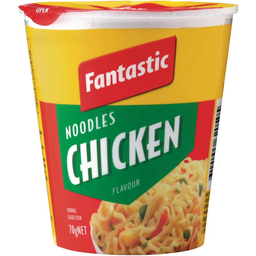 Fantastic Instant Noodles Cup Chicken 70g - buy online at countdown.co.nz