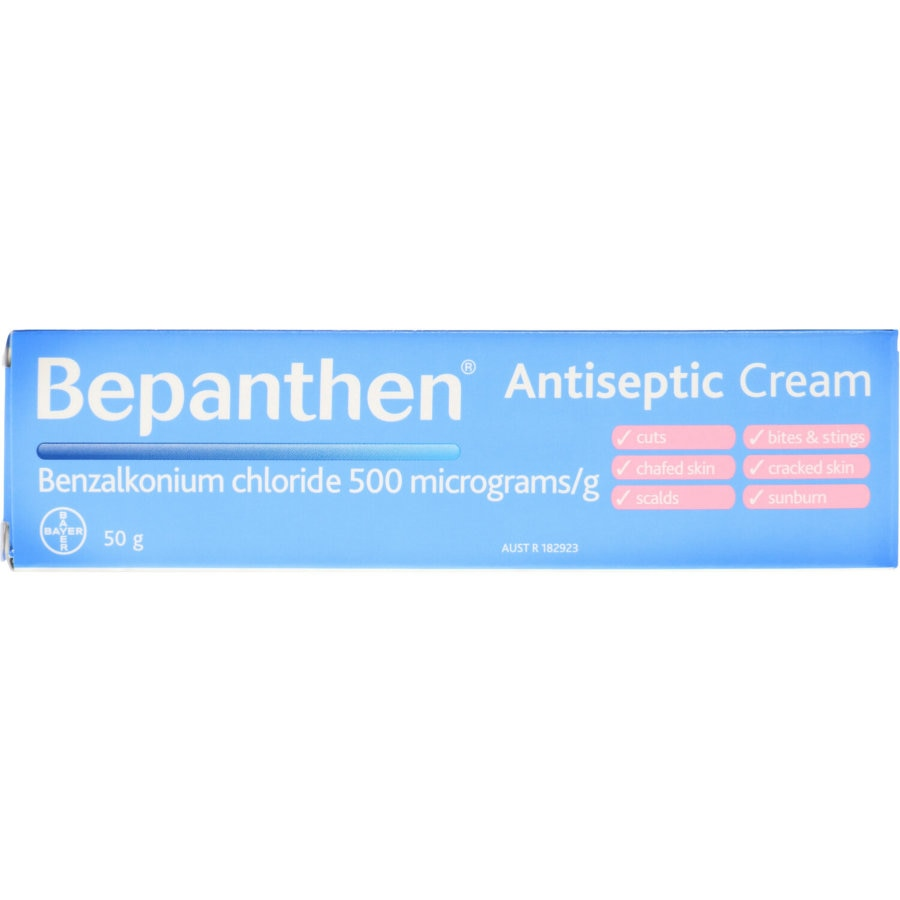 Bepanthen Antiseptic Cream 50g - buy online at countdown.co.nz