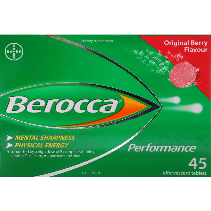 Berocca Performance Effervescent Original 45pk - buy online at countdown.co.nz