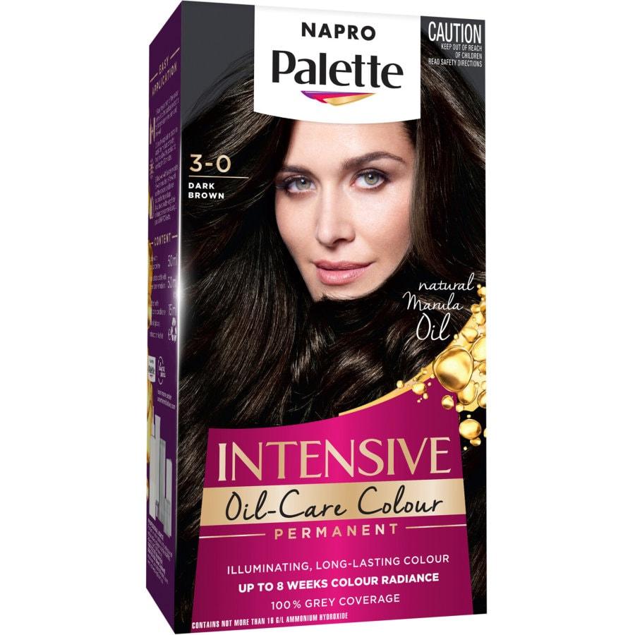 Napro Palette Hair Colour Dark Brown 3.0 140ml 1pk - buy online at countdown.co.nz