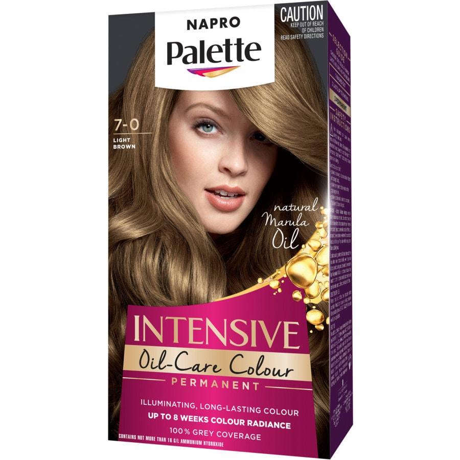 Napro Palette Hair Colour Light Brown 7.0 140ml 1pk - buy online at countdown.co.nz