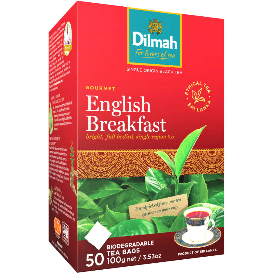 Dilmah Breakfast Tea English bags 50pk - buy online at countdown.co.nz