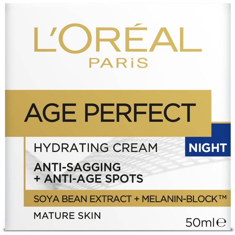 L'oreal Paris Age Perfect Night Cream Hydrating 50ml - buy online at countdown.co.nz