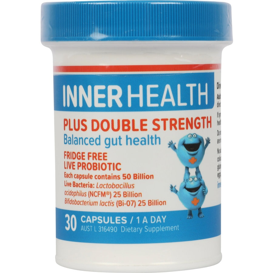 Inner Health Plus Double Strength Probiotic Capsules, 30pk - SHORT DATED