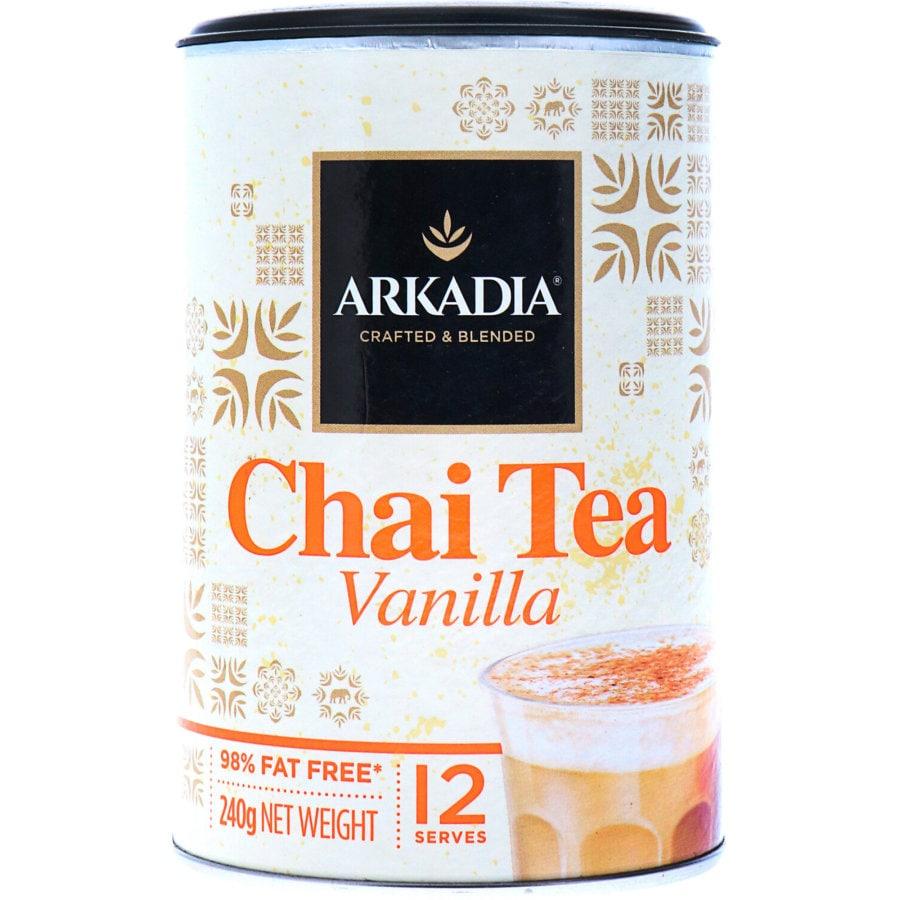 Arkadia Chai Tea Vanilla Mix 240g - buy online at countdown.co.nz