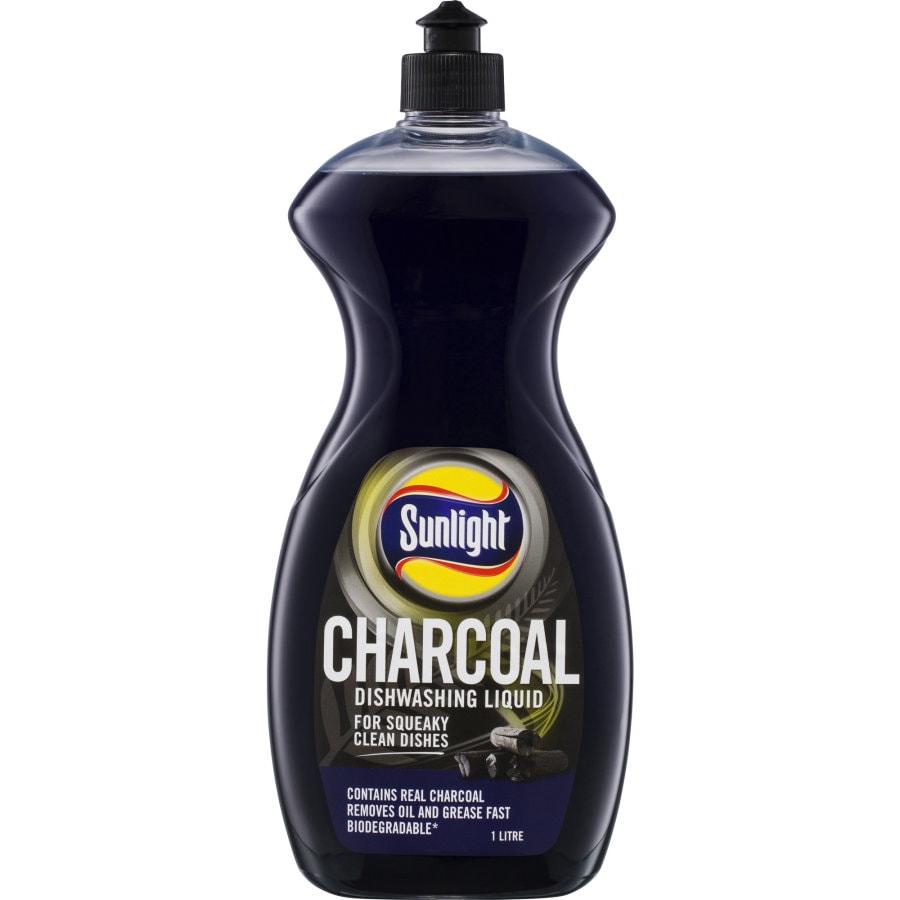 Sunlight Dishwash Liquid Charcoal 1l - buy online at countdown.co.nz
