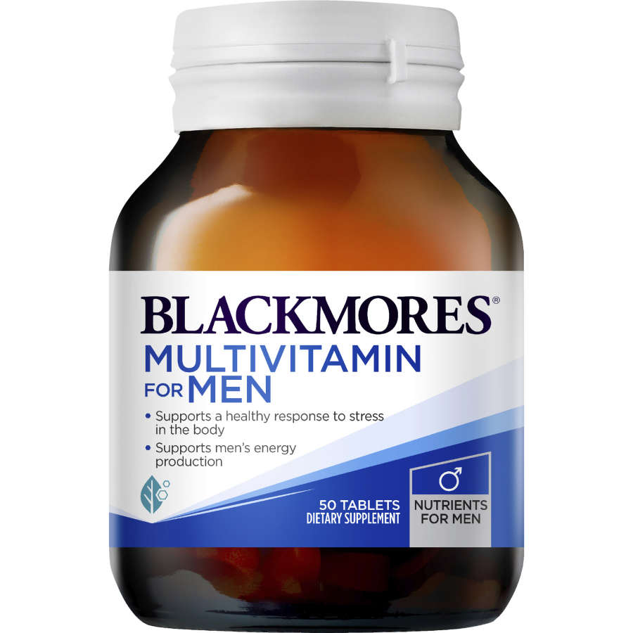 Blackmores Mens Multi Performance Tablets, 50pk