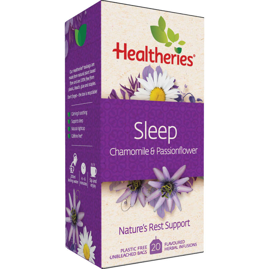 Healtheries Sleep Herbal Tea With Chamomile & Passionflower 20pk - buy online at countdown.co.nz