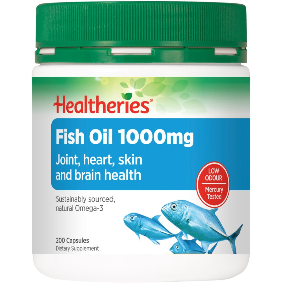 Healtheries Fish Oil Value Pack 1000mg 200pk - buy online at countdown.co.nz