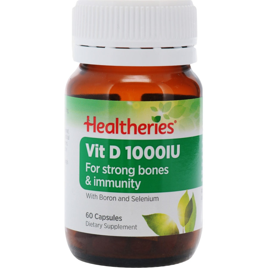 Healtheries Vitamin D 1000iu 60pk - buy online at countdown.co.nz