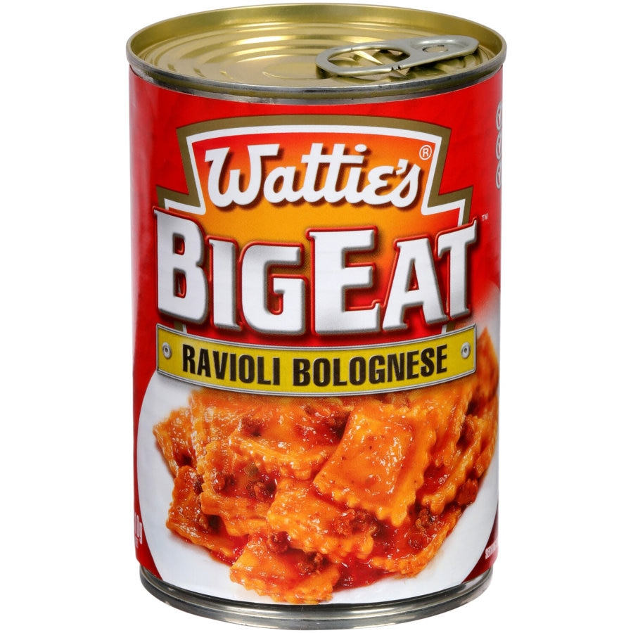 Watties Big Eat Canned Dinners Ravioli Bolog 410g - buy online at countdown.co.nz