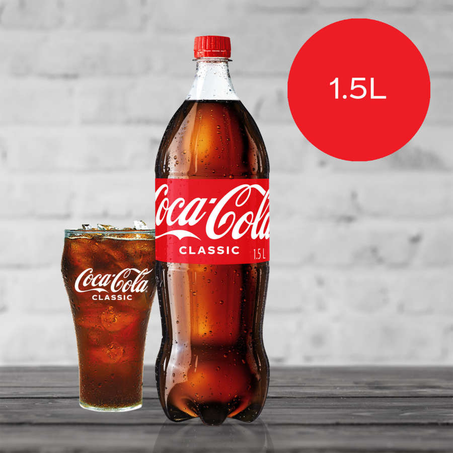Coca Cola Soft Drink Coke 1.5l - buy online at countdown.co.nz