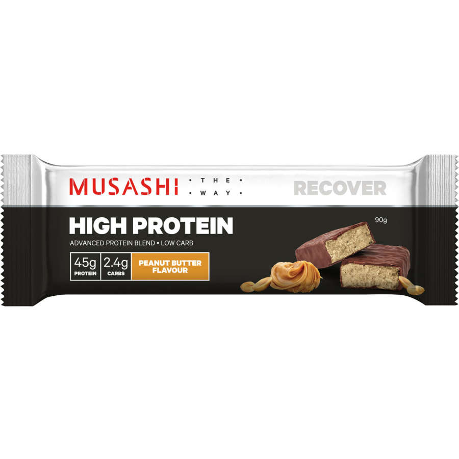 Musashi High Protein Protein Bar Peanut Butter 90g - buy online at countdown.co.nz