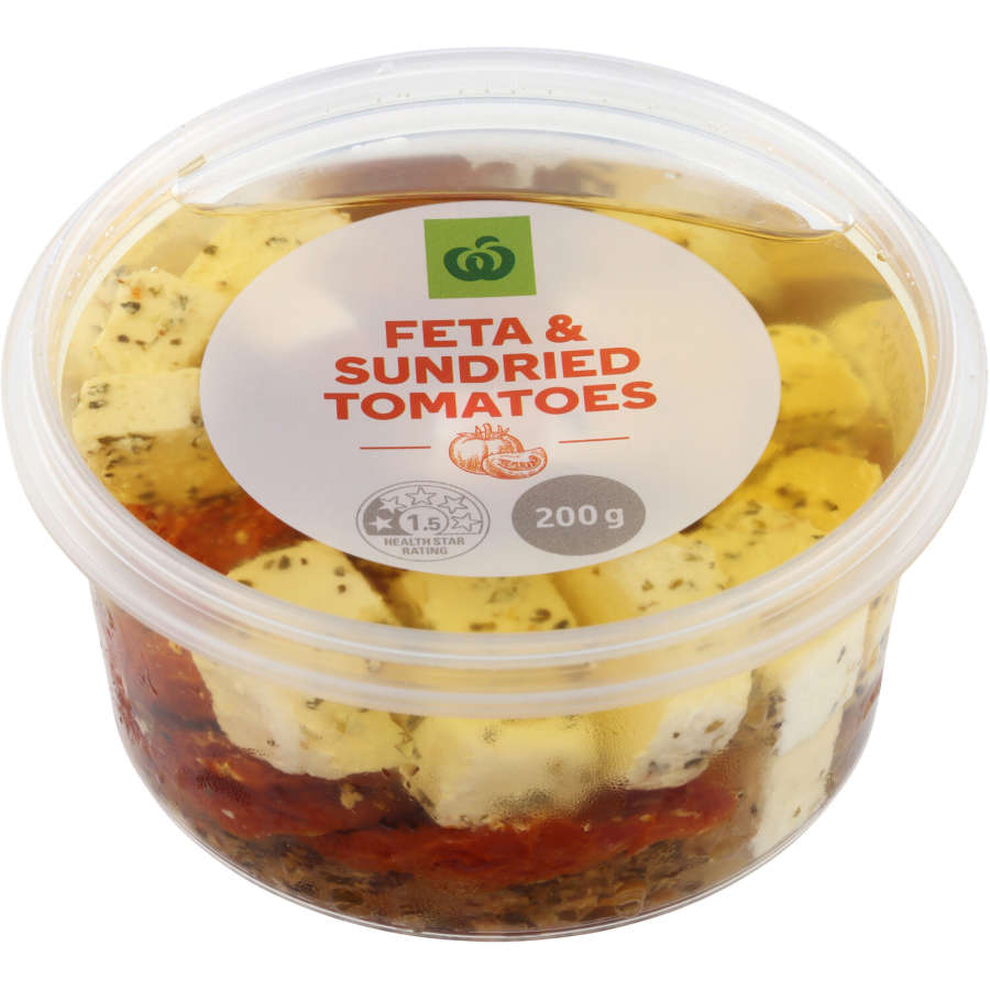Countdown Antipasto Feta Sundried Tomatoes 200g - buy online at countdown.co.nz