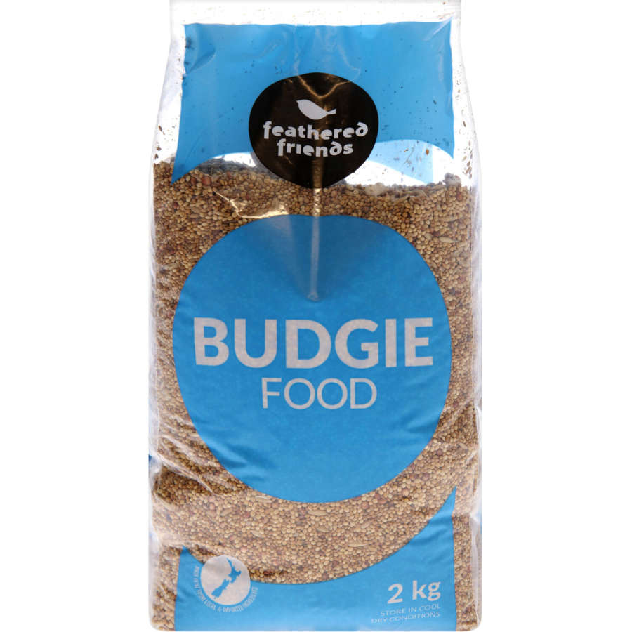 Feathered Friends Bird Seed Budgie 2kg - buy online at countdown.co.nz