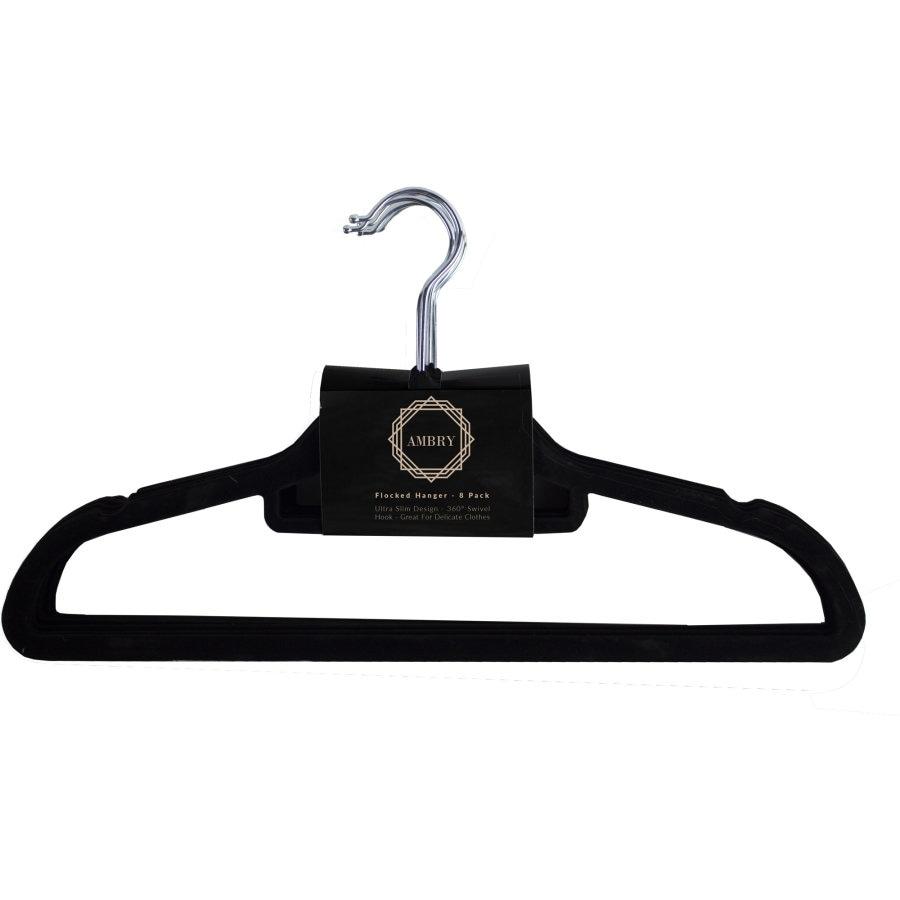 Ambry Coat Hangers Flocked 8pk - buy online at countdown.co.nz