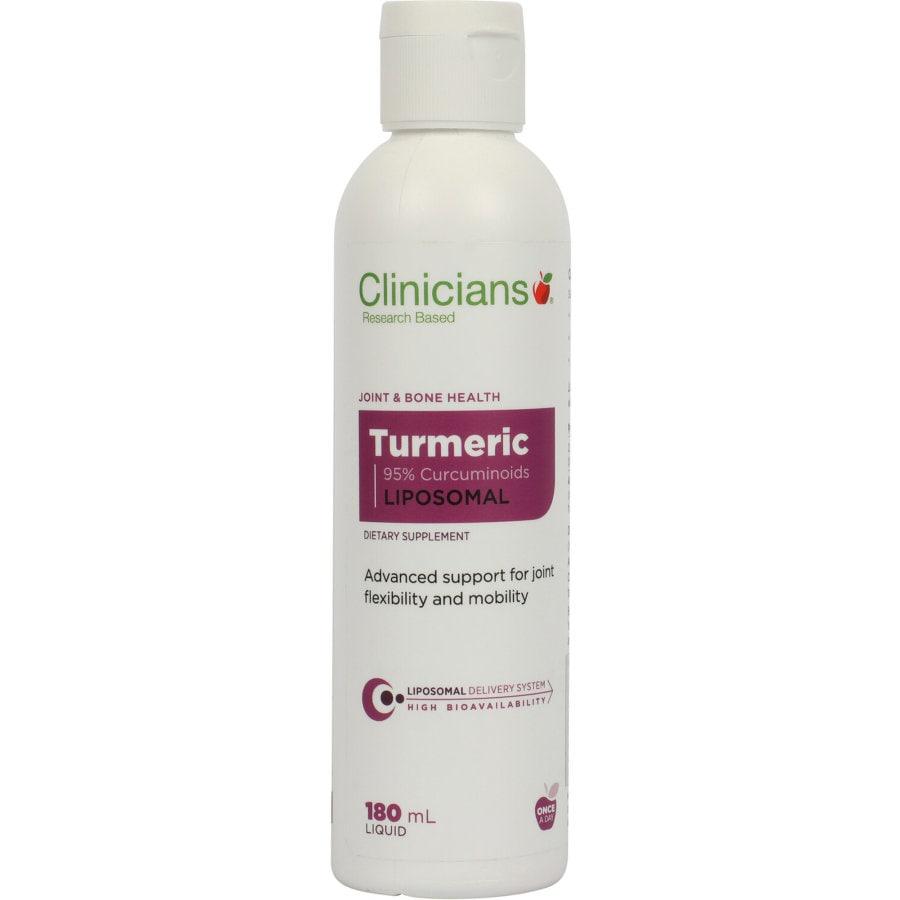 Clinicians Liposomal Turmeric Liquid, 180ml