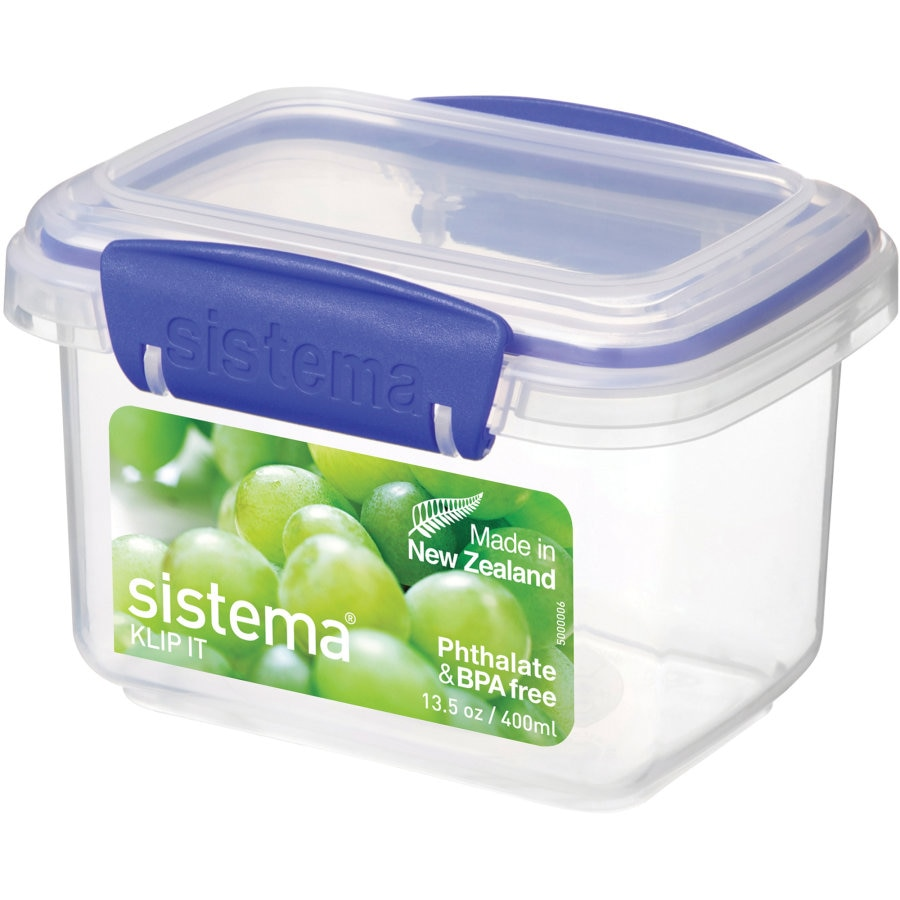 Sistema Klip It Container Rectangle 400ml - buy online at countdown.co.nz
