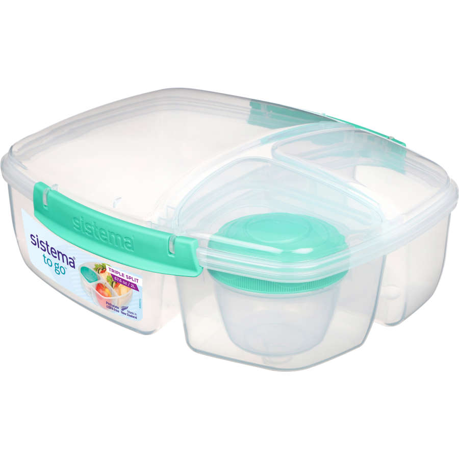 Sistema Container Triple Split To Go 1ea - buy online at countdown.co.nz