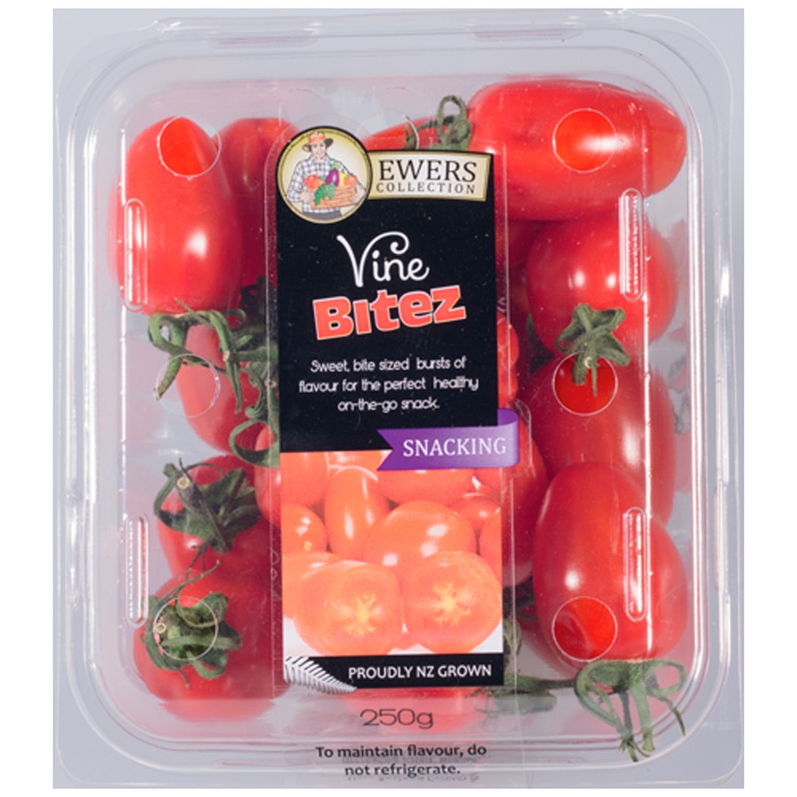 Fresh Produce Tomatoes Vine Bitz prepacked 180g - buy online at countdown.co.nz