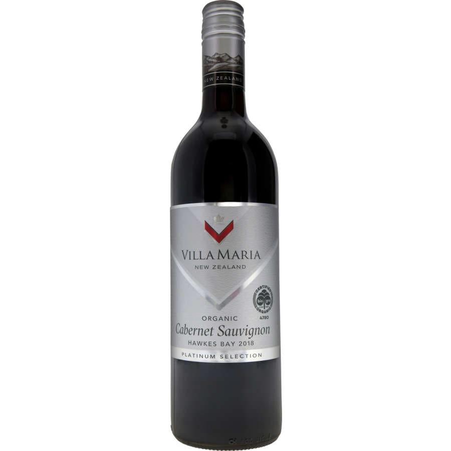 Villa Maria Platinum Selection Cabernet Sauvignon Organic 750ml - buy online at countdown.co.nz
