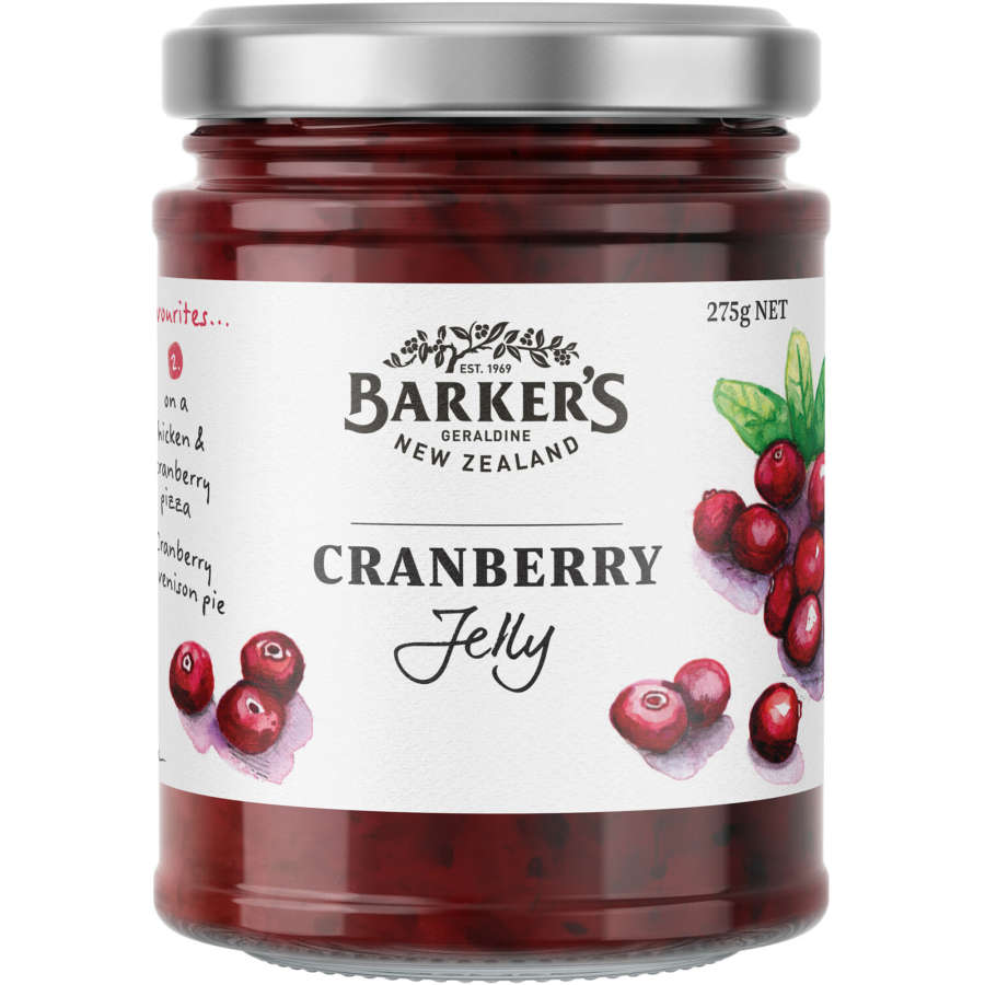 Barkers Cranberry Jelly New Zealand 275g - buy online at countdown.co.nz
